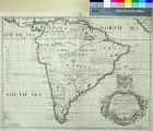 New Map of South America, Shewing it's General Divisions, Chief Cities & Towns Rivers,...