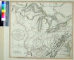 New Map of part of the United States of North America, exhibiting the Western Territory, Kentucky,...