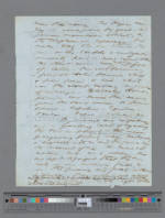 Manuscript page from Walden Version A